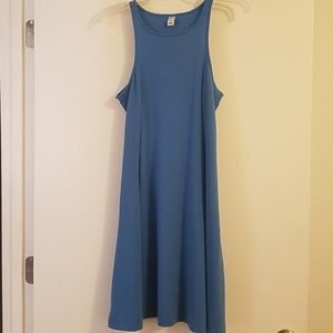 Old Navy sleeveless periwinkle blue dress